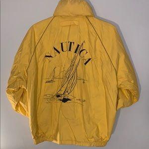 Vintage Nautica  Reverseable  wit logo sail Jacket